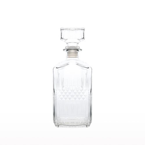 Glass Square Decanter 1.1L ZHJ 3350-9