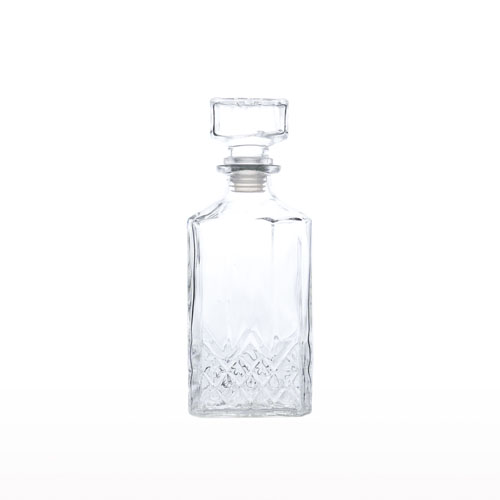 Glass Square Decanter 1.1L ZHJ-1 3350-8