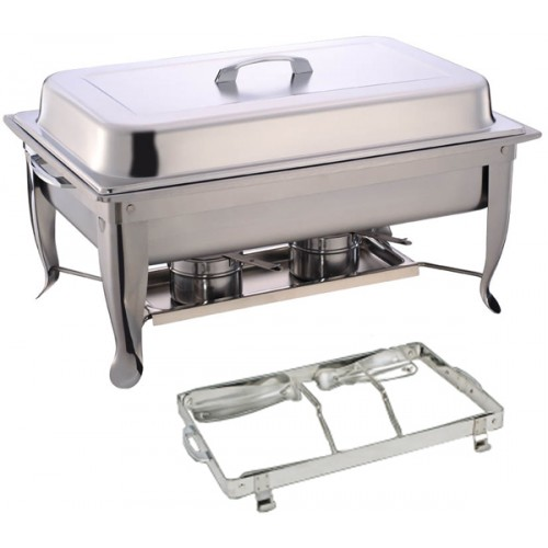 Single Panel - Foldable Rectangular Chafing Dish