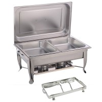 Double Panel - Foldable Rectangular Chafing Dish