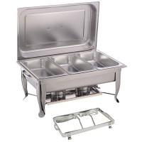 Triple Panel - Foldable Rectangular Chafing Dish