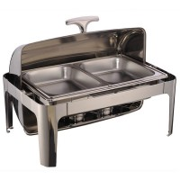 Roll Top Chafing Dish (Double Panel)