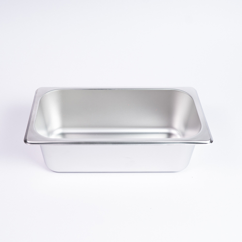 "GN Pan S/S Food Dish 1/3*10 (4"")"