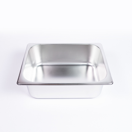 "GN Pan 2"" Curry Half Dish W/Lid"