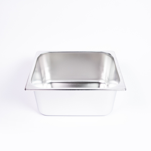 "GN S/S Food Dish (6"") Curry W/Out Lid"