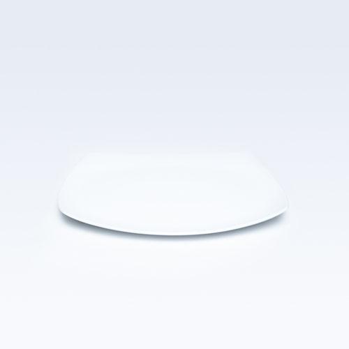 """4844 14"""" White Rice Dish (Rectangular)"""