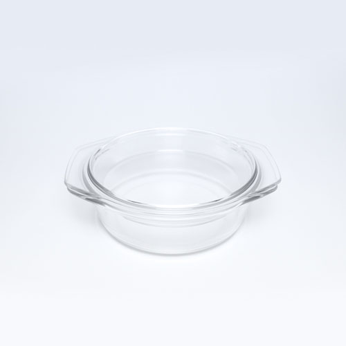 Glass Casserole 1lt (4126) MW48