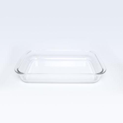 Glass Rect Dish 2LT (8078-3)  MW52