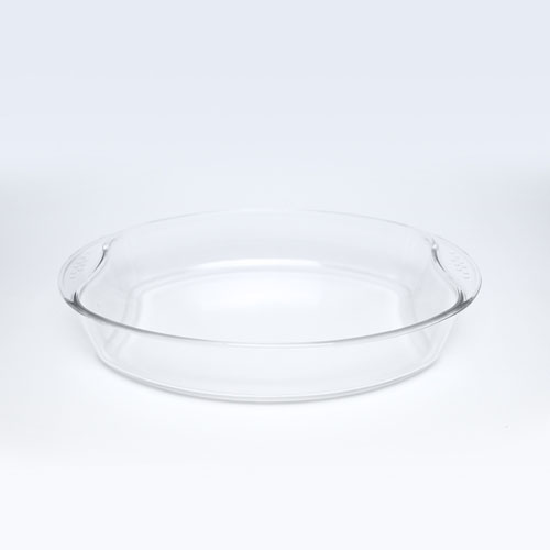 Glass Oval Dish 2.5LT 9170-2 / 3556-6