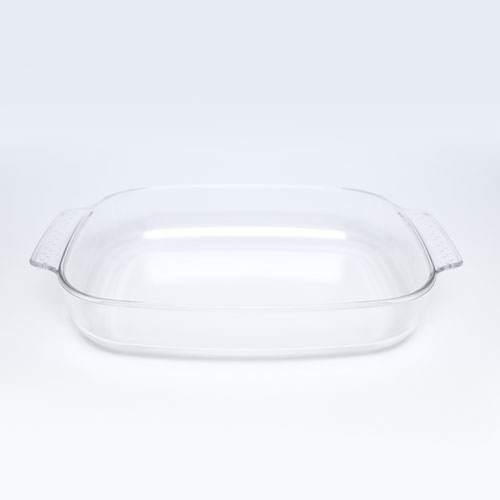 Glass Dish 3.1LT Rect (8106) 3556-15