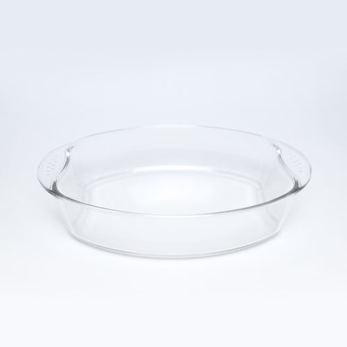 Glass Dish 1.8LT Oval (9170-3)