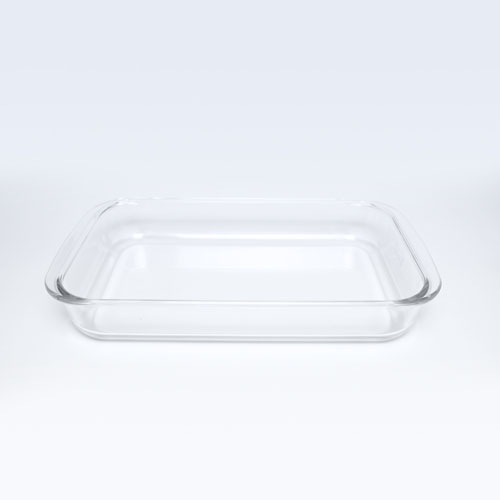 Glass Rect Dish 3.5LT 8078-2
