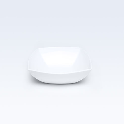4809 Dankotuwa Square White L.S Bowl
