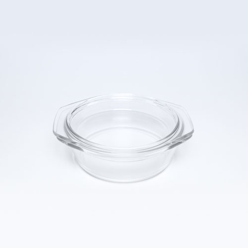 Glass Casserole 0.65L-478 (GE349)