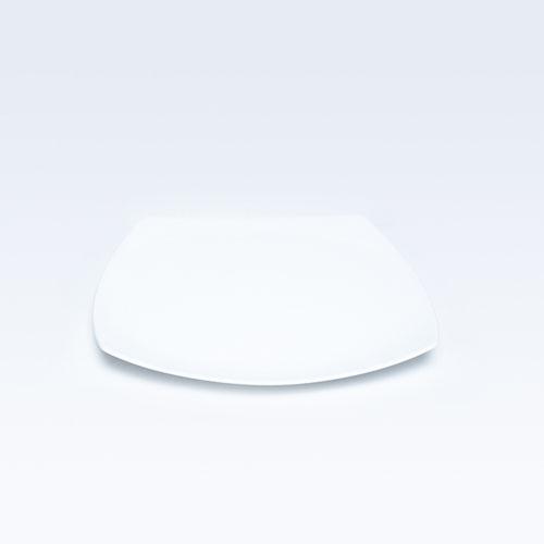 4825 Dankotuwa White Chop Plate