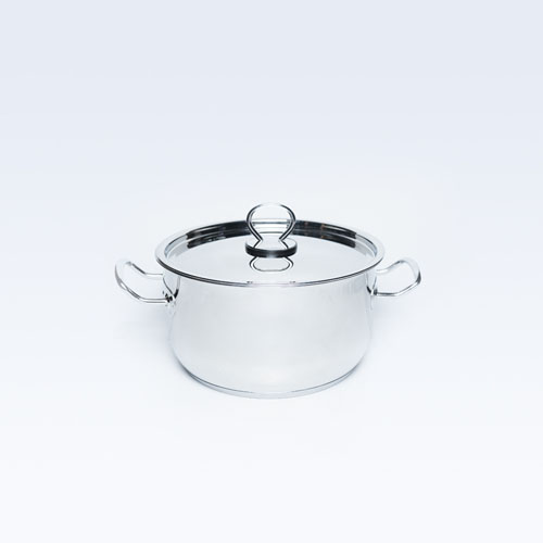 S/S Saucepan Delice 22cm 4.25L  S/B