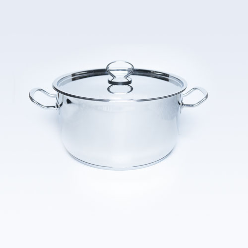 S/S Cook Pot With S/S Lid Delice 28cm 9.25L S/B