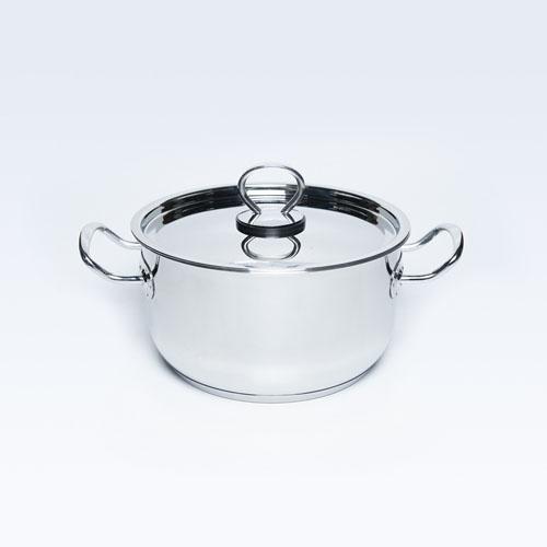 S/S Cook Pot W/Lid 30cm 1L S/B Delice