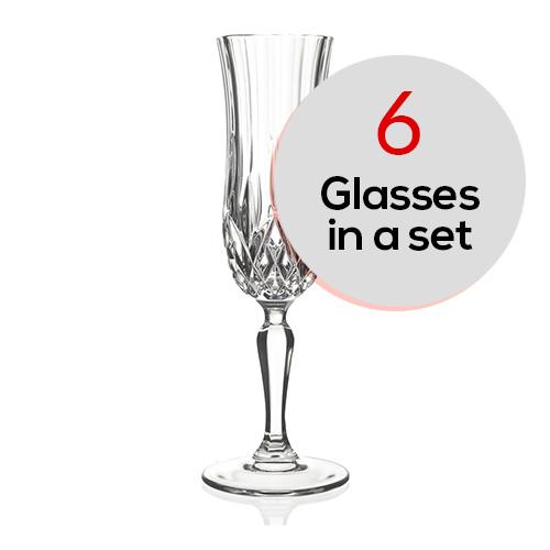 Opera Champagne Flute (6 Pcs Set)