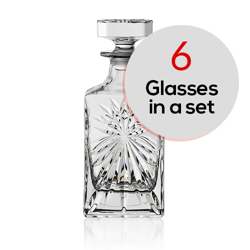 Oasis Whisky-square Decanter