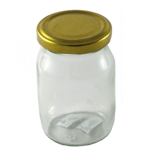 Glass Mason Jar 200g T/T Jam Jar