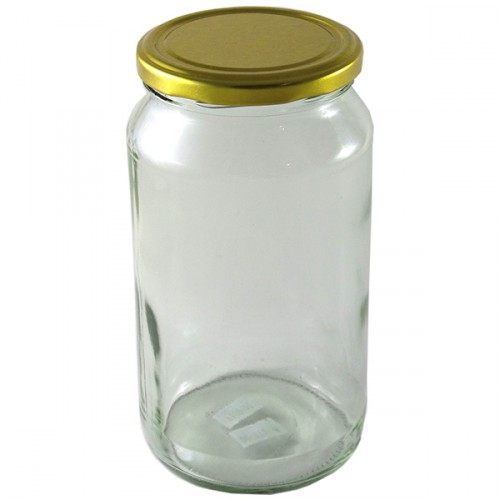 Glass Mason Jar 1000ml T/T Jar