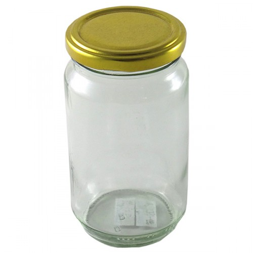 Glass Mason Jar 450g T/T Jam Jar