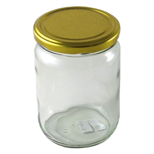 Glass Mason Jar 555ml Gherkin