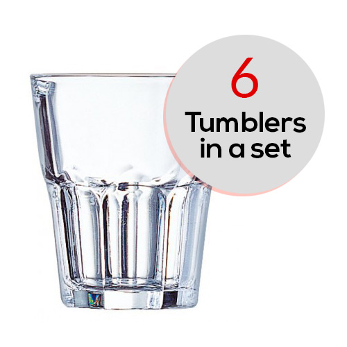 6 pcs Set Granity of Tumbler
