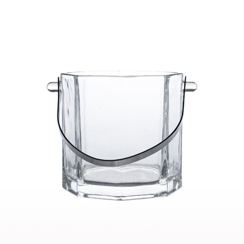 Glass Ice Bucket + Tong 61656 3252-1 / 4428-13