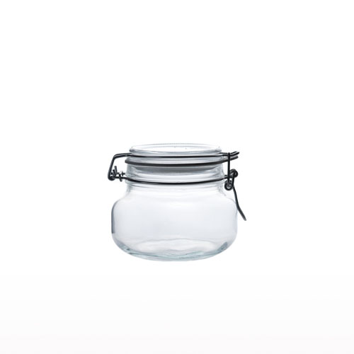 Glass Airtight Jar 500ml JR0260-40