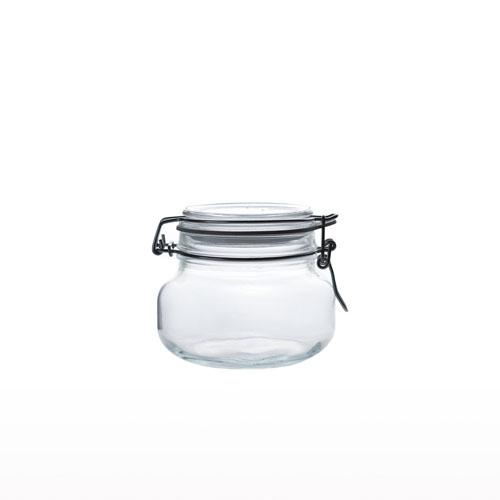 Glass Airtight Jar 500ml JR0260-40