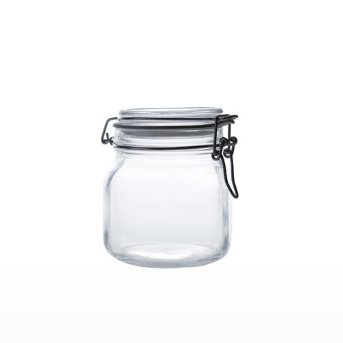 Glass Airtight Jar 750ml JR0120-40