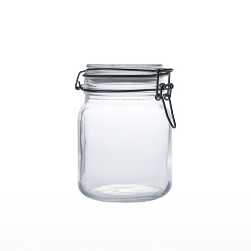 Glass Airtight Jar 1LT JR0130-40