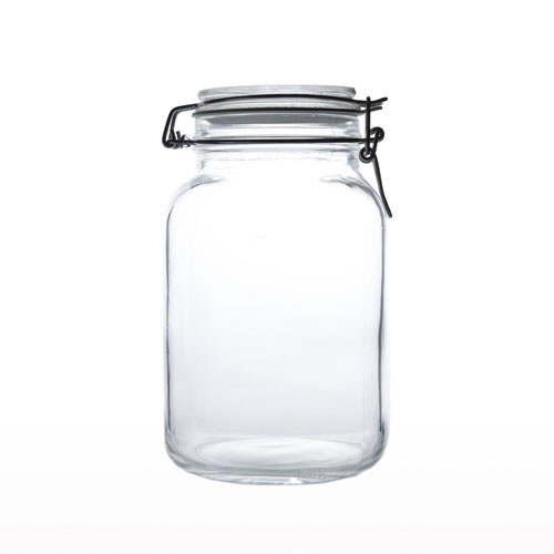 Glass Airtight Jar 2lt JR0140-40