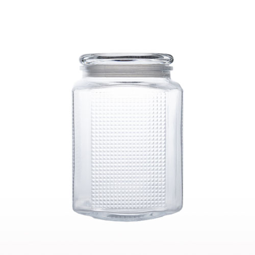 Glass Air Tight Bottle 2 Lt