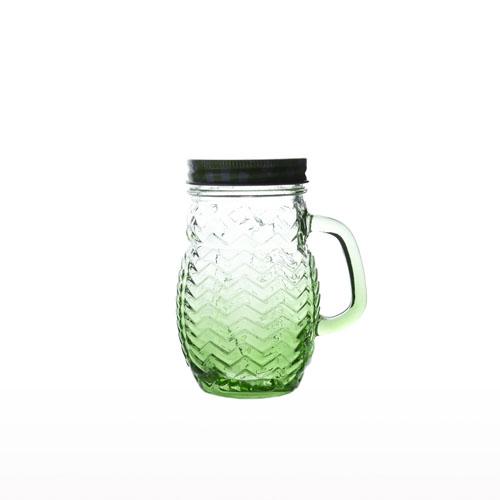 Glass Mason Jar 400ml 1P/BOX 0353-3