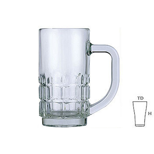 Lucky Glass LG116 Beer Mug 10.5oz. 300ml