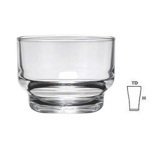 Lucky Glass LG44 Glass Bowl SM 4oz.110 ml