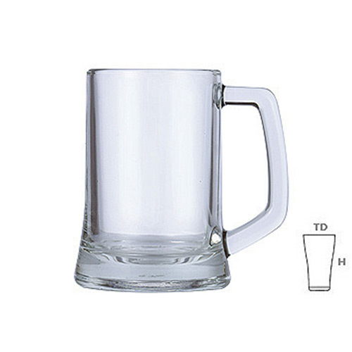 Lucky Glass LG122p Mug 12.5oz. 350ml