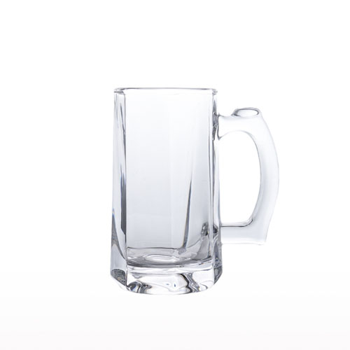 Glass Beer Mug 390ml YJZB