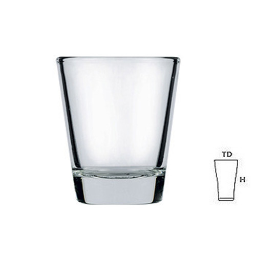 Lucky Glass LG404303 Shot Glass 3oz. 84ml