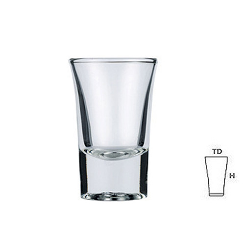 Lucky Glass LG406 Shot Glass 1.2oz. 36ml