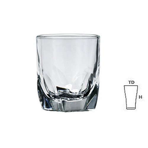 Lucky Glass LG409 Shot Glass 1.7oz. 46ml