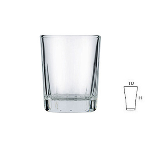 Lucky Glass LG41 Shot Glass 2oz 50ml