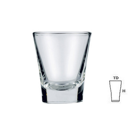 Lucky Glass LG43t Shot Glass 1.5oz. 42ml