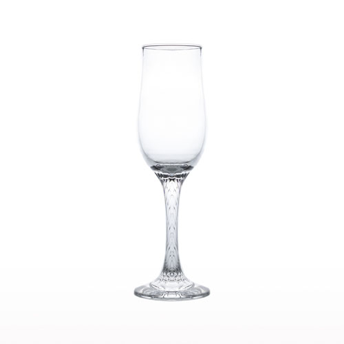 Flute Stem Glass 210ml Bloom EW073