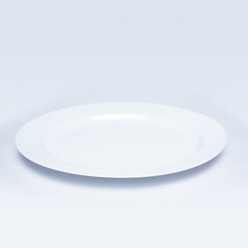 543 Dankotuwa White Oval Platter 16