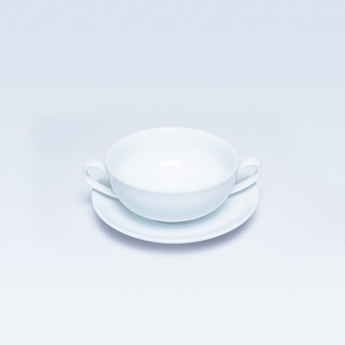1798/277 Dankotuwa White Soup Cup & Saucer