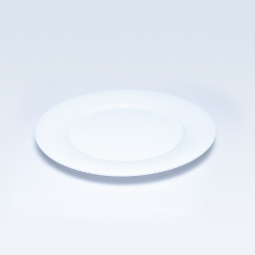 00320 Dankotuwa White Dinner Plate 10.5